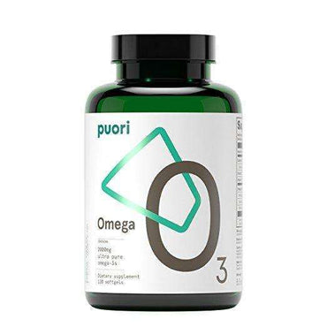 Puori O3 2000mg Omega 3 - Ultra Pure Fish Oil Softgel - 120s