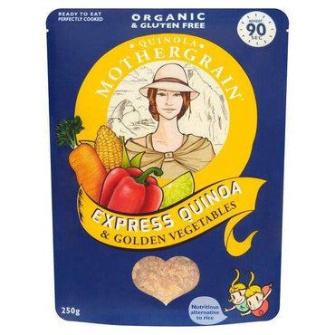 Quinola Express Quinoa & Golden Vegetables 250g (Pack of 6)