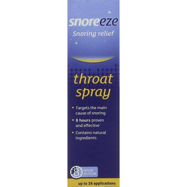 Snoreeze Snoring Relief Throat Spray - 14ml