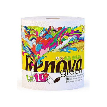 Renovagreen 100% Recycled Paper Towel Gigaroll - Single