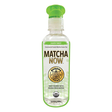 Matcha Now Lightly Sweet Org Ceremonial Grade Matcha - Rtd - 355ml