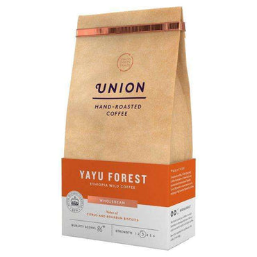 Union Coffee Yayu Ethiopian Whole Bean Coffee 200g