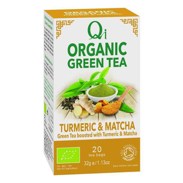 Herbal Health Turmeric & Matcha Green Tea 20 Bags