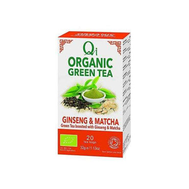 Herbal Health Ginseng & Matcha Green Tea 20 Bags