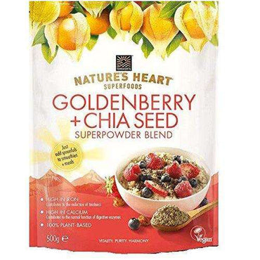 Natures Heart Goldenberry & Chia Seed 200g