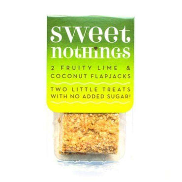 Sweet Nothings Fruity Lime + Coconut Flapjack Bites 68g (Pack of 9)