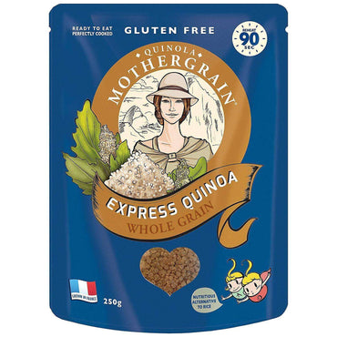 Quinola Express Wholegrain Quinoa 250g (Pack of 6)
