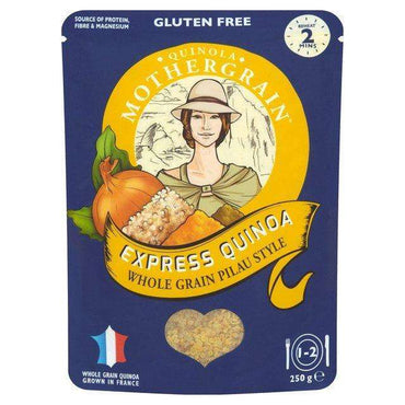 Quinola Express Quinoa Pilau Style Wholegrain 250g (Pack of 6)