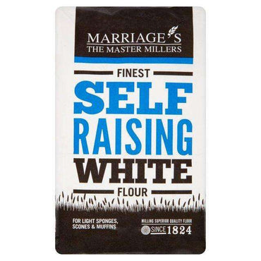 Marriages Finest Self Raising White Flour 1.5kg (Pack of 5)