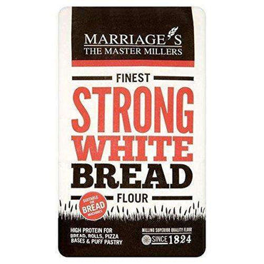 Marriages Finest Strong White Flour 1.5kg (Pack of 5)
