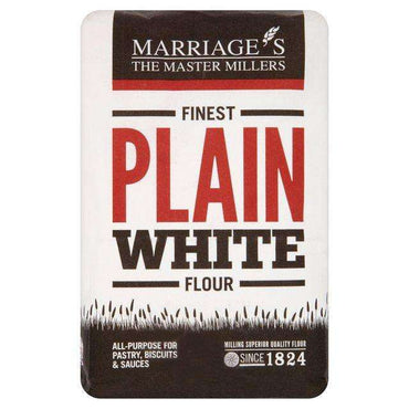 Marriages Finest Plain White Flour 1.5kg (Pack of 5)