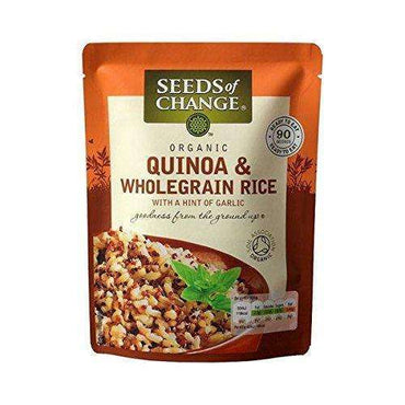 Seeds Of Change Wholegrain Rice & Quinoa Ready To Heat 240g