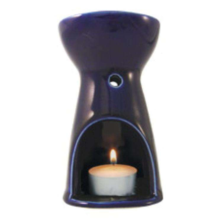 Absolute Aromas Oil Burner Cobalt Blue