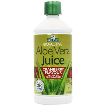 Aloe Pura Aloe Vera Juice Max Strength Cranberry 500ml