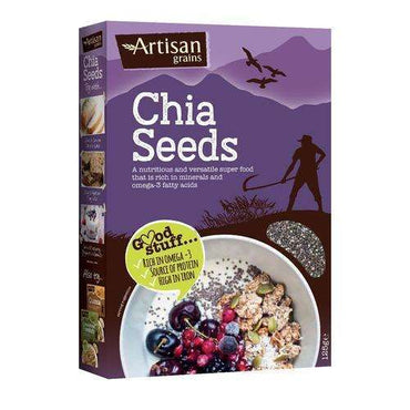Artisan Grains Chia Seeds 125g (Pack of 2)