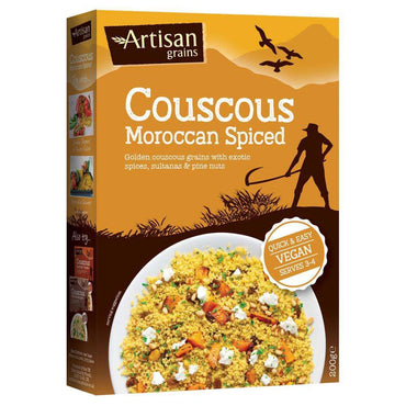 Artisan Grains Moroccan Spiced Couscous 200g (Pack of 2)