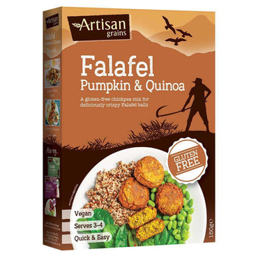 Artisan Grains Pumpkin & Quinoa Falafel Mix 150g (pack of 2)