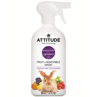 Attitude Fruit and Vegetable Cleaner 800ml