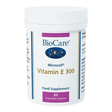 Biocare MicroCell Vitamin E 200i.u. (natural Source) 60 caps
