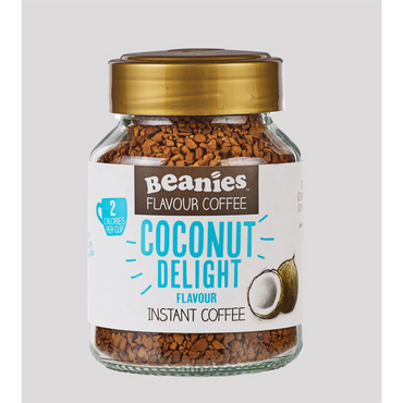 Beanies Coffee Coconut Flavour Instant Coffee 50g