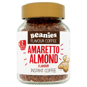 Beanies Coffee Amaretto Flavour Instant Coffee 50g