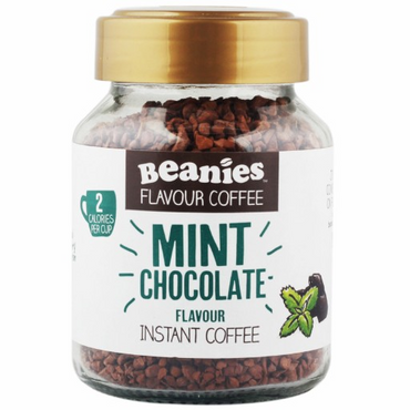 Beanies Coffee Mint Choc Flavour Instant Coffee 50g