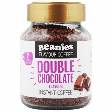 Beanies Coffee Double Chocolate Flavour Instant Coffee 50g