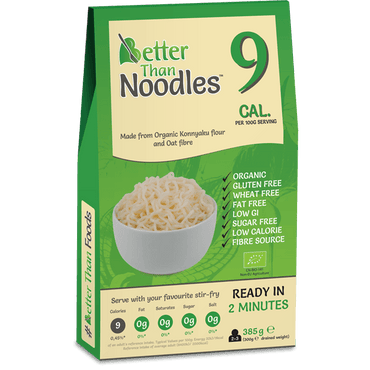 Better ThanNoodles Organic Konnyaku 385g (300g drained weight)