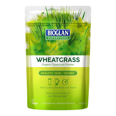 Bioglan Superfoods Organic Wheatgrass 100g