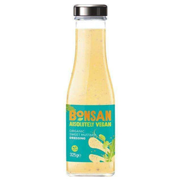 Bonsan Organic Vegan Sweet Mustard Dressing 325ml