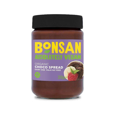 Bonsan Organic Plain Choco Spread Vegan 350g