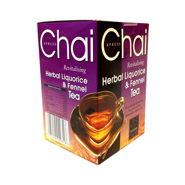 Chai Xpress Herbal Liquorice & Fennel Tea 50g