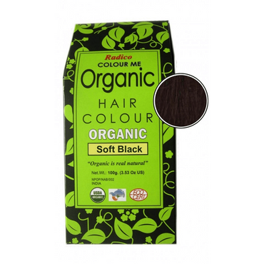 Colour Me Organic- Soft Black 100g