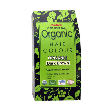 Colour Me Organic- Dark Brown 100g