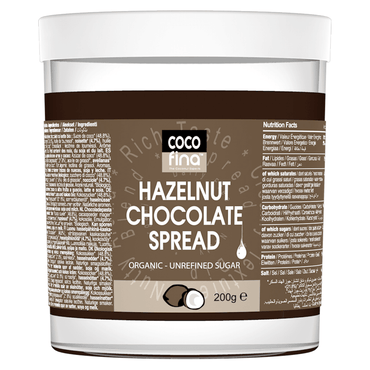 CocofinaOrganic Hazelnut Chocolate Spread 200g