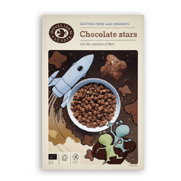Doves Farm Gluten Free  Organic Chocolate Stars 300g