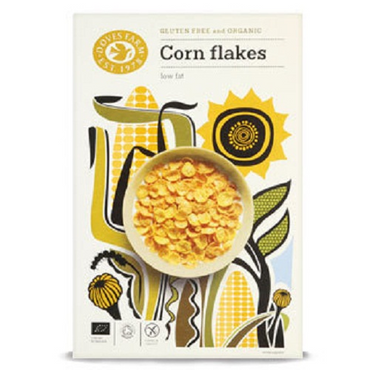 Doves Farm Gluten Free Organic Corn Flakes 325g(Pack of 5)