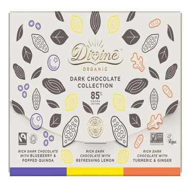 Divine Chocolate Organic & Fairtrade 3 x 80g Gift Box