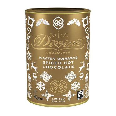 Divine Chocolate Spiced Hot Chocolate 300g