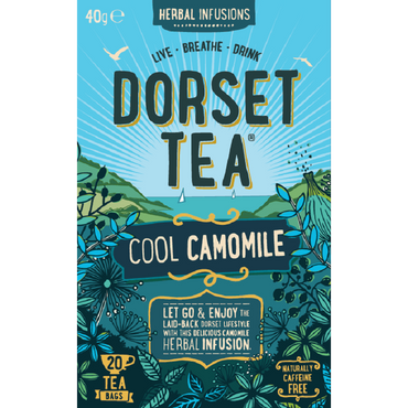 Dorset TeaCool Camomile 20 Box