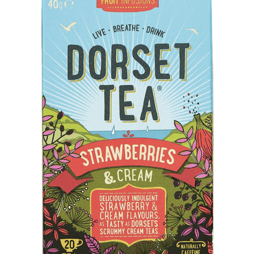 Dorset TeaStrawberries and Cream 20 Box