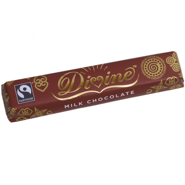 Divine Chocolate Milk Chocolate 40g(Pack of 10)