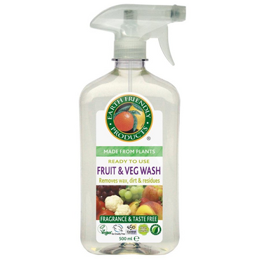 Earth Friendly Products Fruit & Vegetable Wash 500ml