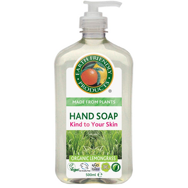 Earth Friendly Products Hand Soap Lemongrass 500ml