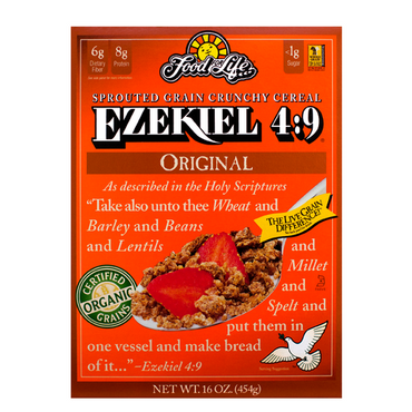 Food For Life Ezekiel Sprouted Whole Grain Cereal Original 454g
