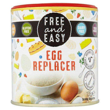 Free & Easy Gluten and Dairy Free Egg Replacer 135g