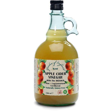 Garden Of England Raw Kent Apple Cider Vinegar with Mother 1000ml