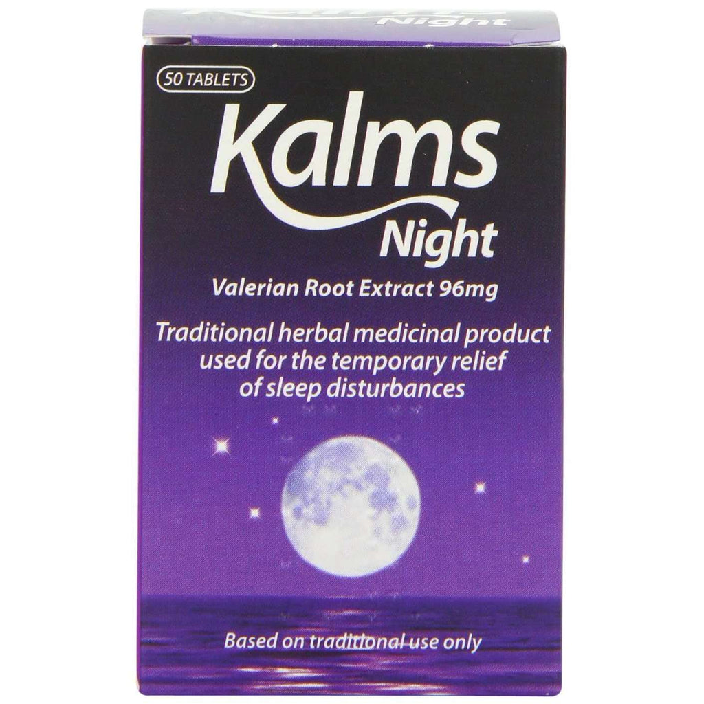 Kalms Kalns Night 50's - Valerian Root extract 96mg