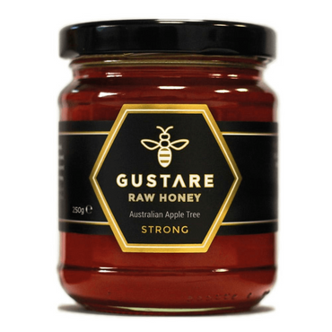 Gustare Honey Apple Tree Mono Floral Raw Australian Honey 250g