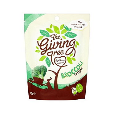 Giving Tree Ventures Vacuum Fried Broccoli Crisps 18g